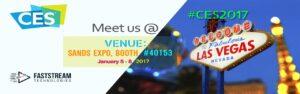 Visit us at CES 2018 in Las Vegas, Nevada