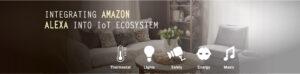 Amazon Alexa Integrated with IoT Ecosystem Service