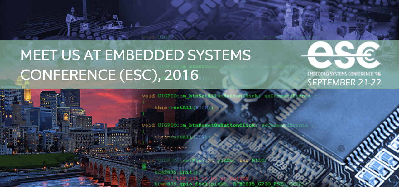 ESC- Embedded Systems Conference