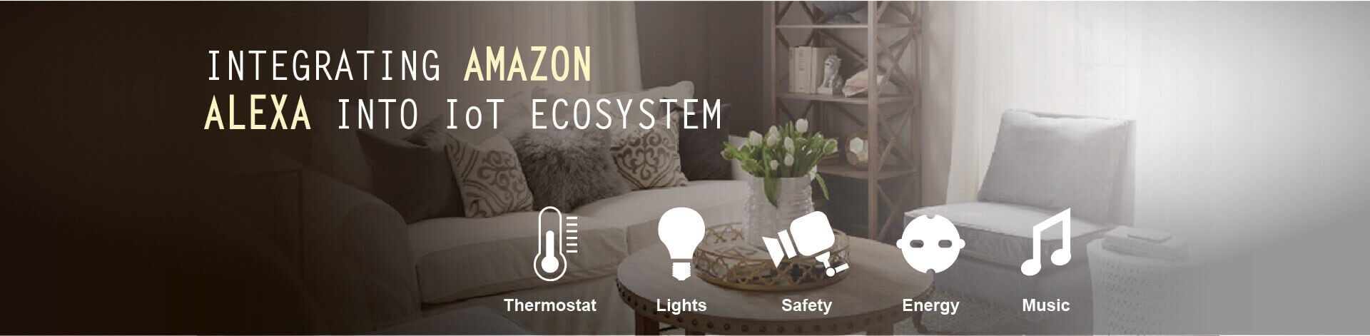 Amazon Alexa Integrated with IoT Ecosystem Service
