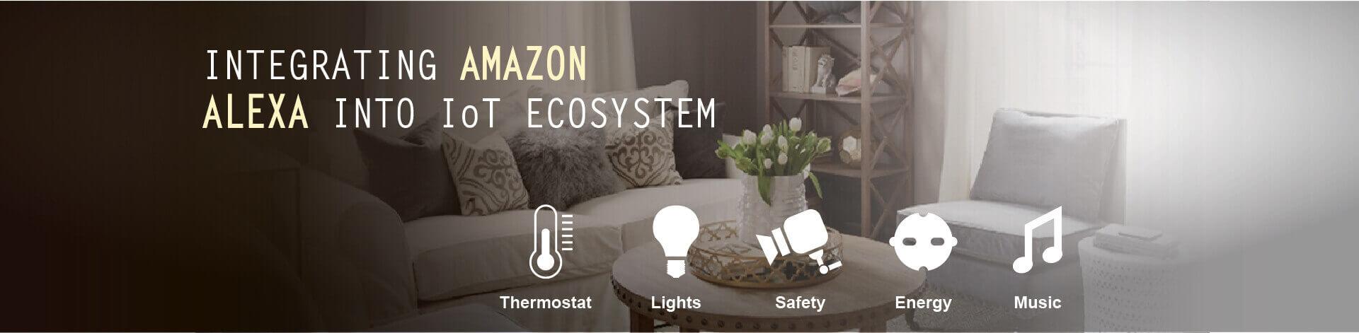 Integrating Amazon Alexa into IoT ecosystem