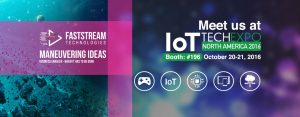 Meet Us at Booth 196, IoT Tech Expo, Santa Clara Convention Center, North America, Oct 20-21, 2016