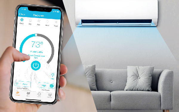 smart air conditioner Remote Control Based on Smart Home Appliance