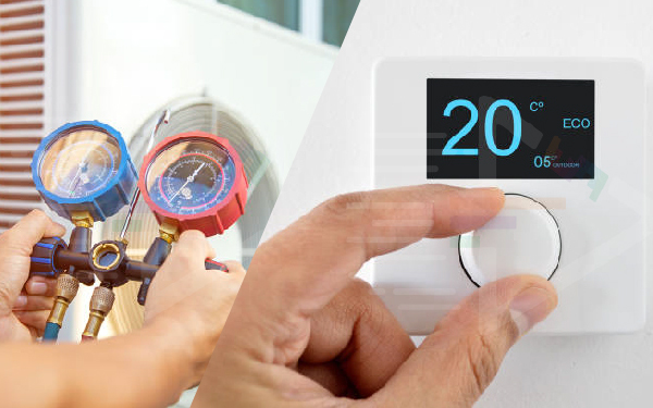 smart heat ventilation Based on Smart Home Appliance
