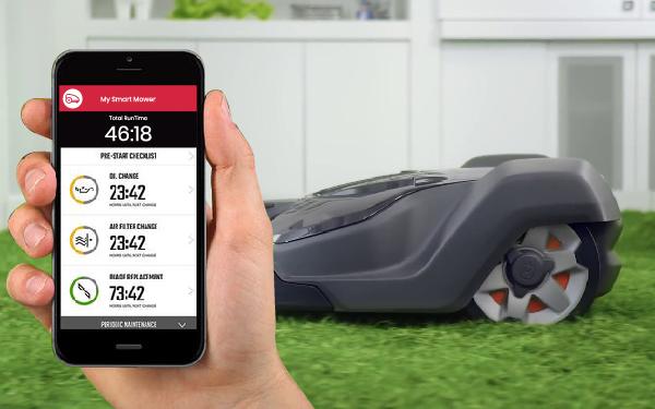 Smart Lawn Mower Based on Smart Home Appliance