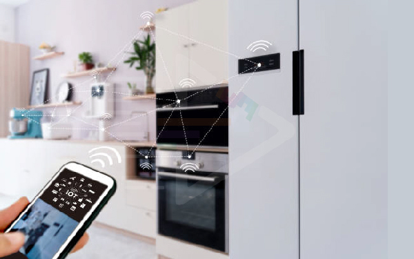 Smart Refrigerator Based On Smart Home Appliance
